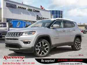 2018 Jeep Compass Limited | BEATS RADIO | BLIND SPOT | NAV | HID