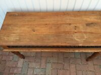 Wooden Console Table.