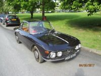 Lancia Fulvia coupe, rhd, repainted, Mot'd. Very reliable. Runs and looks great