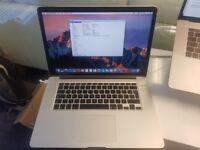 MacBook Pro 15 2.3GHz I7 16GB Ram, 256GB SSD