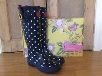 Ladies Joules wellies, size 7