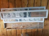 Oak engineered wood flooring and underlay