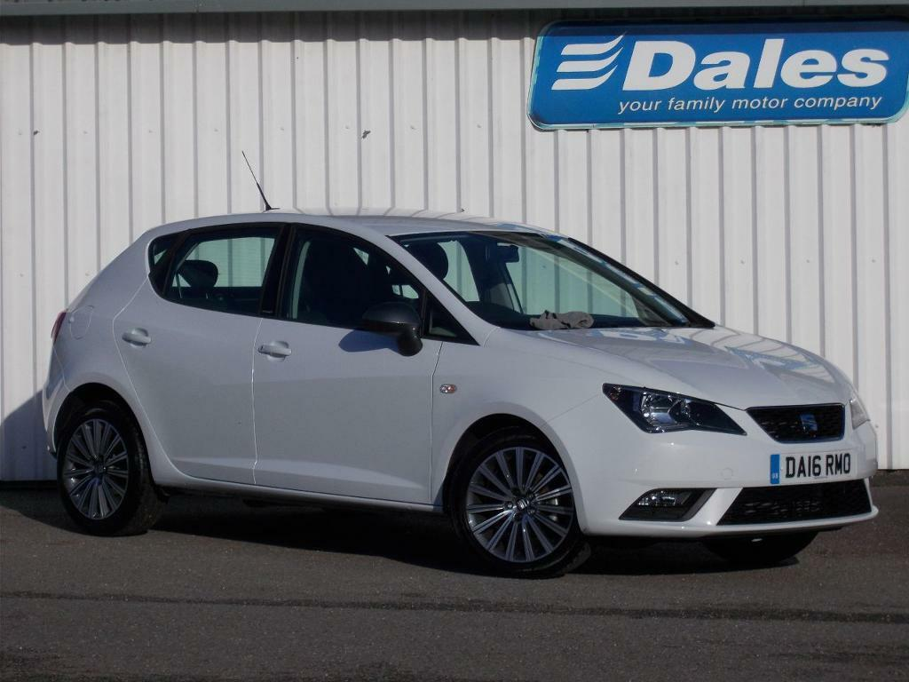 seat ibiza 1 2 tsi connect 90 ps 5 door nevada white 2016 in newquay cornwall gumtree. Black Bedroom Furniture Sets. Home Design Ideas