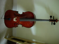 1/4 size Stentor II cello outfit - superior model of teacher-recommended brand, bargain price