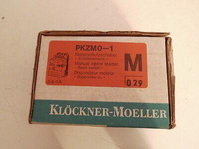 Klöckner-Moeller PKZM0-1 Motorschutzschalter