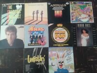 """64 VINYL 7"""" & 12"""" RECORDS MIXED JOB LOT COLLECTION 60's 70's 80's 90's LP's"""