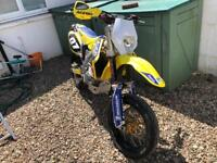 Suzuki RMZ450, Supermoto, 2006, road registered