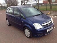 (57) Vauxhall Meriva 1.6 , mot - June 2017 , only 68,000 miles , service history , astra , focus ..
