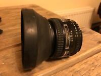 Nikon AF Nikkor 50mm 1.4 D lens