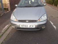 focus silver, new mot drives perfect, leather interior