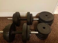 Foxhunter Dumbell set 30kg