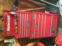 Mastercraft drawers and tools