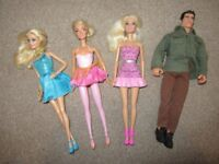 Barbie and Ken Dolls