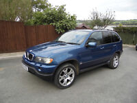 CLASSIC MK1 BMW X5 D SPORT BLUE AUTO