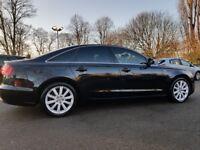 Audi A6 2.0 TDI SE 4D MANUAL 177BHP SAT NAV CLIMATRONIC LEATHERS (BLACK)2011