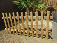 Garden Palisade fence panel