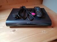 1TB Sky+ HD Box with power cable, remote and HDMI cable