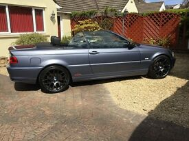 BMW 3 Series 2.0 318CI convertible in Pristine condition with many extras.