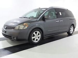2008 Nissan Quest NAVI-DVD-LEATHER-SUNROOF