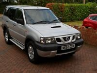 2004MY Nissan Terrano 2.7 TD 7 seater - ONLY 69K MILES FROM NEW - TOWBAR - RUNS&LOOKS EXCELLENT