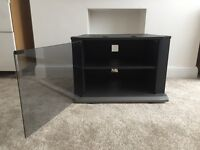 Beautiful TV Stand with Glass Door in New Condition