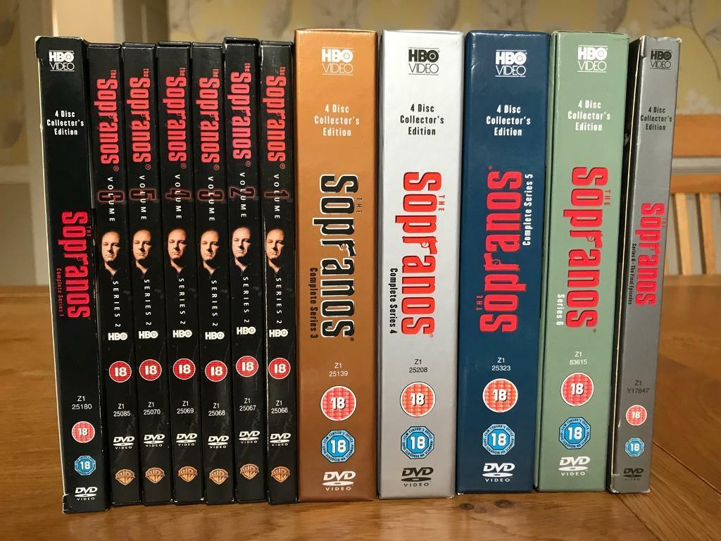 The Sopranos dvd full set