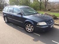 2004 Volkswagen Passat 4 Motion Sport 1.9 Tdi 6 speed 130 bhp estate # suede/leather # cruise # s/h