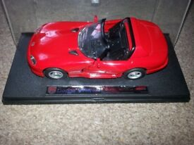 red car Dodge Viper RT/10