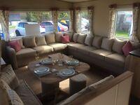Stunning Static Caravan For Sale With Sea-Views, Near Haggerston & Berwick, Scottish Borders