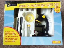 Child's National Geographic Microscope