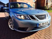 *SUMMER STUNNER*2009(09)SAAB 9-3 2.0 TURBO VECTOR SPORTS CONVERTIBLE WITH 12 MONTHS WARRANTY*