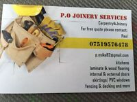 P.O JOINERY SERVICES