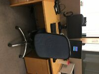 Office Workstations - Desk, Chair and Ped. Free to Charity, or £45 per set