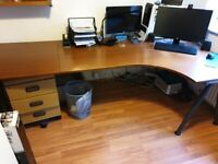 Super Quality Curved Office Desk