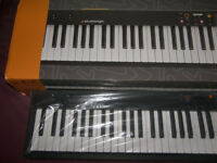 Studiologic Numa Compact 2 , 88 Keys , Semi - Weighted Keyboard , 200 Sounds and built-in Speakers.