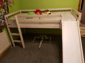 Toddler Bed with a slide