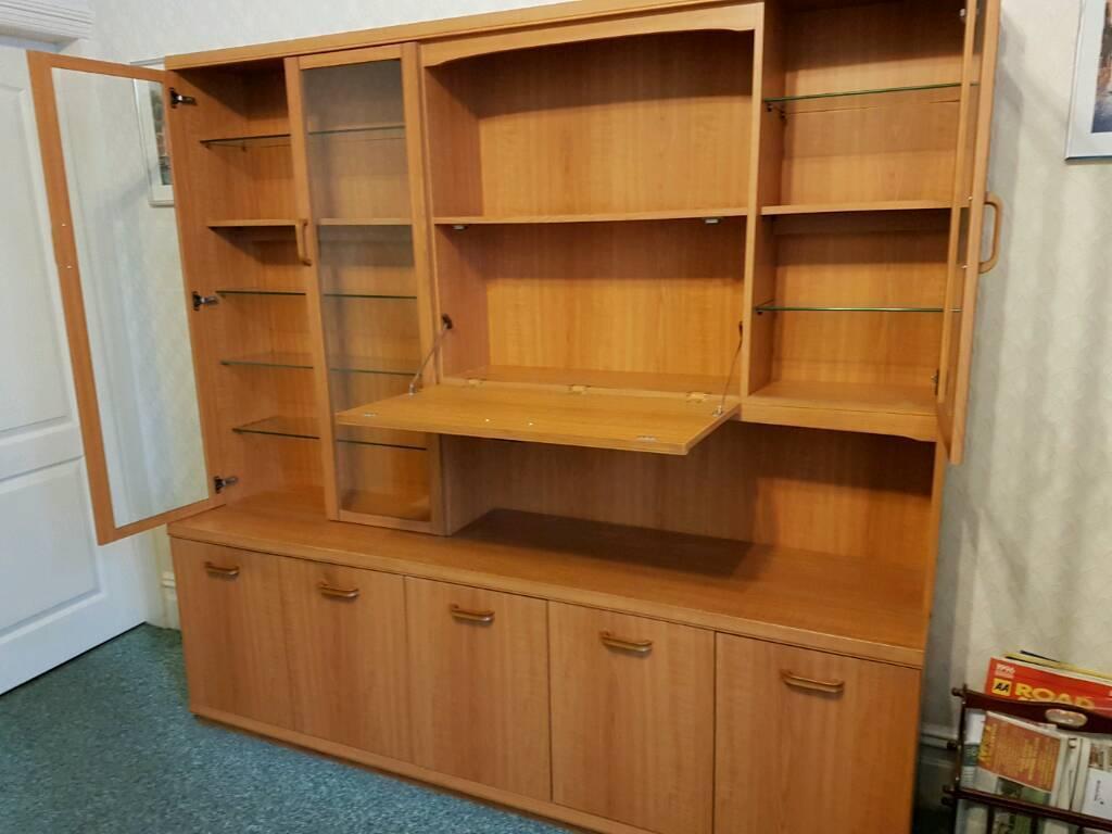 Wall unit 80s teak in ashton under lyne manchester for 80s furniture