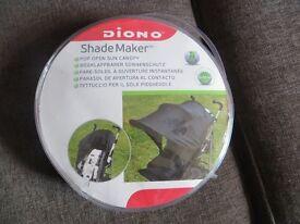 buggy/pushchair shade maker
