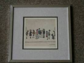 Limited edition ls lowry print