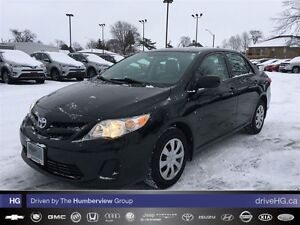 2013 Toyota Corolla 4-door Sedan S 4A | ONE OWNER |NO ACCIDENTS