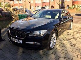 BMW 740d M-Sport 3.0l For Sale