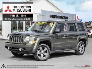 2015 Jeep Patriot HIGH ALTITUDE! REDUCED! 4X4! AUTO! HEATED LEAT