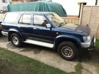 Toyota hilux surf 4runner 2.4 spares or repair
