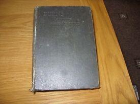 ROBERT BURNS - KILMARNOCK EDITION - PRINTED 1935
