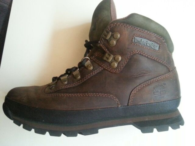 83fdfca4337 timberland euro hiker lace up mens hiking boots brown leather | in Cardiff  Bay, Cardiff | Gumtree