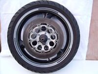 used front and rear wheels suzuki gsxr 1100