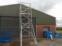 alloy scaffold tower 7m working