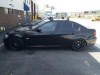 """18"""" Borbet wheels with tyres 5x120, black matte, ET 40"""