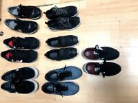 many trainers , selling all my trainers nike reebok asiscs skechers new balance
