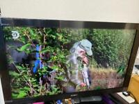 Sony Bravia 40inch tv like new still in wrapping